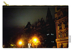 Carry-all Pouch featuring the photograph Gothic Skyline by Salman Ravish