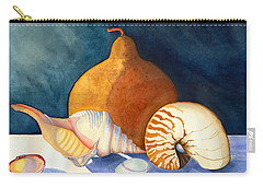 Gourd And Shells Carry-all Pouch