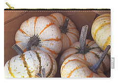 Carry-all Pouch featuring the photograph Gourd Harvest by Denyse Duhaime