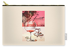 Gourmet Cover Illustration Of A Baccarat Balloon Carry-all Pouch