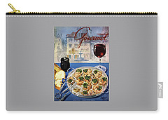 Gourmet Cover Illustration Of A Platter Carry-all Pouch