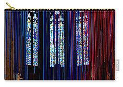Grace Cathedral With Ribbons Carry-all Pouch