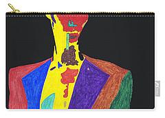 Grace Jones Carry-all Pouch by Stormm Bradshaw