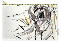 Carry-all Pouch featuring the painting Grace Of Solitude by Bill Searle