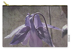 Carry-all Pouch featuring the photograph Graceful Lady by Liz  Alderdice