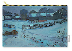 Grady Road Farm Carry-all Pouch by Phil Chadwick