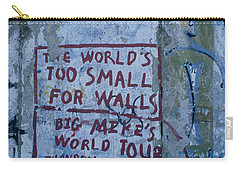 Graffiti On A Wall, Berlin Wall Carry-all Pouch by Panoramic Images