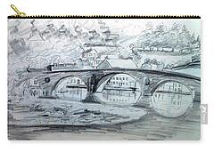 Graignamanagh Bridge River Barrow  Kilkenny Ireland  Carry-all Pouch