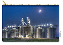Grain Processing Plant Carry-all Pouch by Paul Freidlund