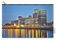 Carry-all Pouch featuring the photograph Grain Silo Rotterdam by Frans Blok