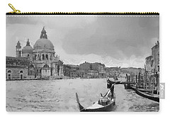 Carry-all Pouch featuring the painting Grand Canal Venice Italy by Georgi Dimitrov