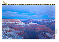 Carry-all Pouch featuring the photograph Grand Canyon At Dawn by Jonathan Nguyen