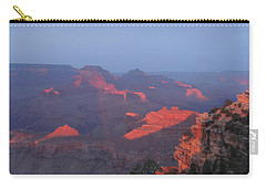 Carry-all Pouch featuring the photograph Grand Canyon At Sunset by Jayne Wilson