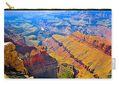 Grand Canyon In Vivid Color Carry-all Pouch