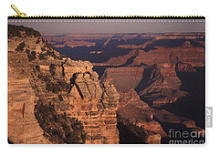 Carry-all Pouch featuring the photograph Grand Canyon Sunrise by Liz Leyden