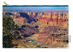 Grand Canyon Sunset Carry-all Pouch by Robert Bales