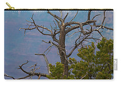 Carry-all Pouch featuring the photograph Grand Canyon Tree by Rod Wiens