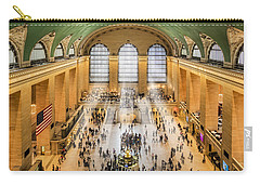 Grand Central Terminal Birds Eye View I Carry-all Pouch
