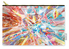Carry-all Pouch featuring the digital art Grand Entrance by Margie Chapman