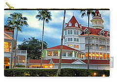 Grand Floridian Resort Walt Disney World Carry-all Pouch by Thomas Woolworth