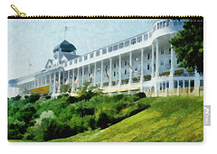 Grand Hotel Mackinac Island Ll Carry-all Pouch by Michelle Calkins