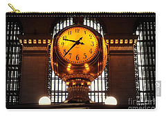 Grand Old Clock At Grand Central Station - Front Carry-all Pouch