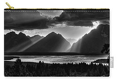 Grand Teton Light Beams Carry-all Pouch