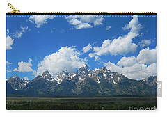 Carry-all Pouch featuring the photograph Grand Teton National Park by Janice Westerberg