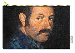 Carry-all Pouch featuring the painting Grant by Donna Tucker
