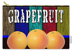 Grapefruit Carry-all Pouch