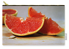 Grapefruit Slices Carry-all Pouch by Joseph Skompski