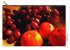 Grapes And Tangerines Carry-all Pouch