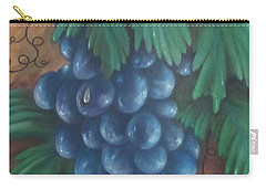 Grapes With Dewdrop Carry-all Pouch