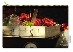Grapes With Weighing Scale Carry-all Pouch