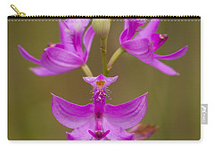 Grasspink #1 Carry-all Pouch by Paul Rebmann