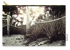 Grassy Beach Post Entrance At Sunset 2 Carry-all Pouch