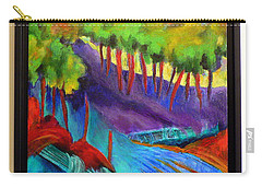 Grate Mountain Carry-all Pouch by Elizabeth Fontaine-Barr