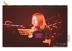 Grateful Dead Concert - Brent Mydland Carry-all Pouch by Susan Carella