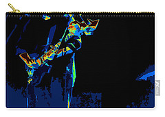 Grateful Dead - In Concert Carry-all Pouch by Susan Carella