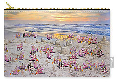 Grateful Holiday Carry-all Pouch by Betsy Knapp