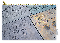 Grauman's Chinese Theatre Marilyn Monroe Carry-all Pouch