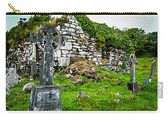 Graveyard And Church Ruins On Ireland's Mizen Peninsula Carry-all Pouch