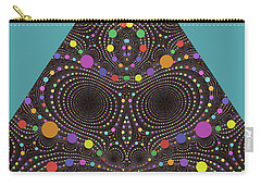 Carry-all Pouch featuring the digital art Gravity And Magnetism by Mark Greenberg