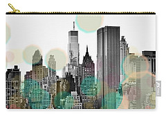 Gray City Beams Carry-all Pouch by Susan Bryant