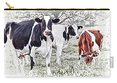Busy Bovines Carry-all Pouch