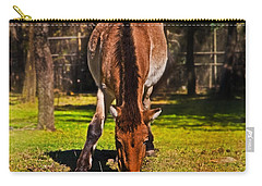Grazing With An Attitude Carry-all Pouch by Miroslava Jurcik