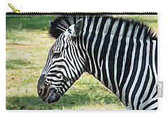 Grazing Zebra Carry-all Pouch