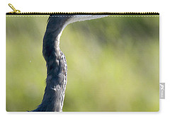 Great Blue Heron Backlit Carry-all Pouch