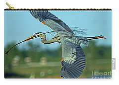 Great Blue Heron Flight 2 Carry-all Pouch