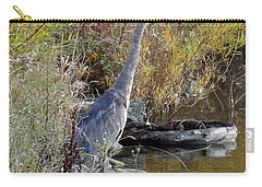 Great Blue Heron - Juvenile Carry-all Pouch